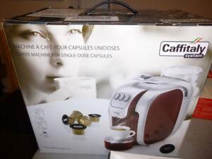 MACHINE À CAFÉ CAFFITALY « S07 » (NEUVE)