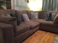 Next Somona 2 Corner Sofa and Snuggle Seat £500 for both
