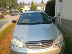 Toyota Corolla 2003- Best Value, low kms