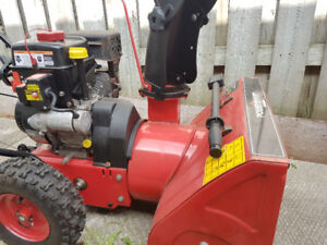 Two Stage Snow Blower. Electric Start.    Moving Sale