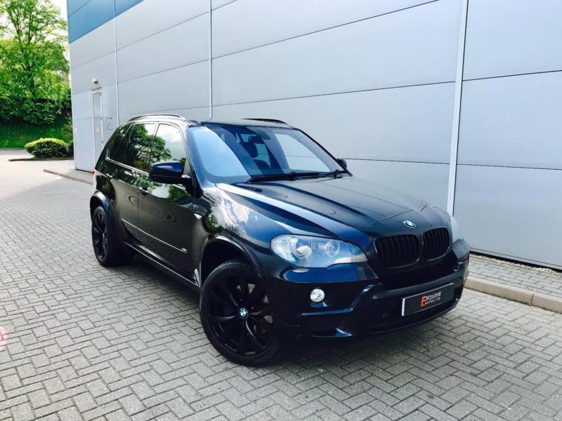 2007 57 reg BMW X5 4.8i M Sport Black +HUGE SPEC + PAN ROOF + TVs + ...