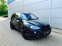 2007 57 reg BMW X5 4.8i M Sport Black +HUGE SPEC + PAN ROOF + TVs + DVD +HEAD UP