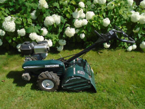 Rotoculteur CRAFTSMAN 6.5 HP a roues motrices