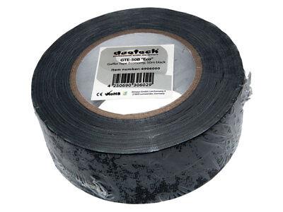 Gaffa Tape 50mm x 50m Gewebe-Klebeband Panzer-Band-Tape Stagetape schwarz