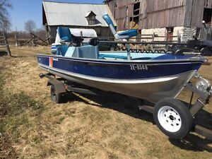 15' Princecraft With 35hp Evinrude