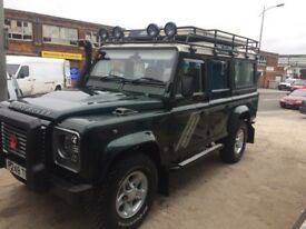 Land Rover defender 110 csw