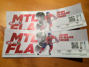 Billets Canadiens-Panthers