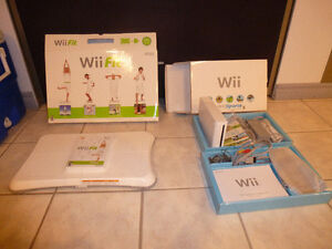 Nintendo Wii Fit and Wii Sports