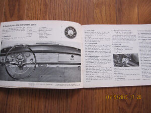 1968 1500 Karmann Ghia Owners Manual Sarnia Sarnia Area image 4