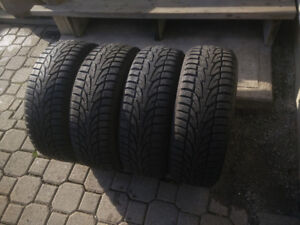 Nearly new 185/60R14 winter / snow tires
