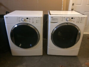kenmore front load washer and dryer. kenmore front-loading washer and gas dryer front load