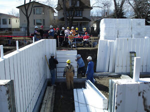 Foundations and Basement Floors with no concrete - Not ICF!