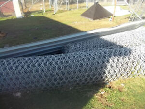 2rolls of gabion wire could be used for fencing very heavy