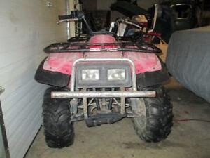 2002 Yamaha Beartracker ATV ready to ride, Runs great