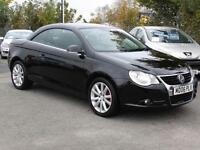 Volkswagen Eos 2.0TDI 2006, Black, 2006, 59 000 Miles, FSH, 6 Months AA Warranty