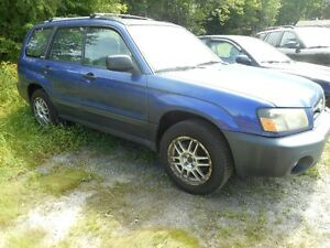 2004 Subaru Forester tax included SUV, Crossover