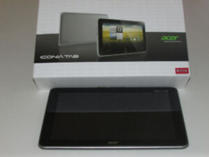 """Tablette Acer 10"""" /  mémoire 16 g"""