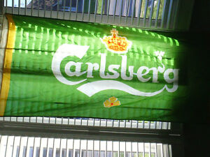 Carlsberg flag - beer, man cave