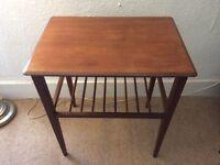 Vintage / Retro Teak Wooden Side Table