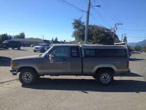 1989 Ford Ranger 4x4 w Ex Cab and Canopy (Parts/Project)