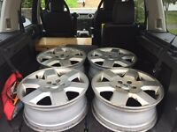 4x Landrover discovery 3-4 alloy wheels