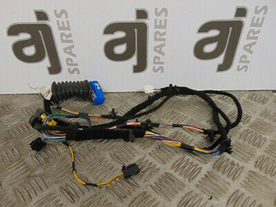 FIAT 500 DRIVERS SIDE FRONT DOOR WIRING LOOM 00519215540 2015