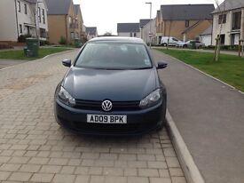 VW Golf 1.6 petrol 2009 55.500 miles