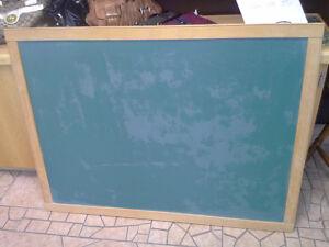Chalk board for sale.   Framed, Green... 4ft. x. 3 ft.