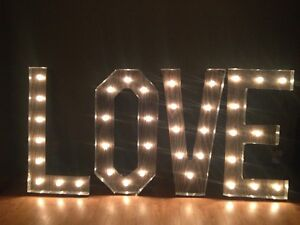 Love Wedding Marquee Sign Cambridge Kitchener Area image 1