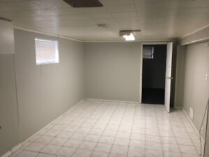 Basement for rent Weston and Sheppad $950 + Utilities & Parking