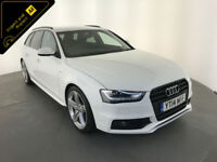 2014 AUDI A4 S LINE BLACK EDITION TFSI ESTATE 1 OWNER SERVICE HISTORY FINANCE PX