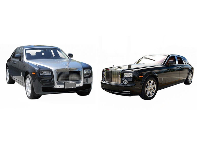 rolls royce ghost vs phantom ebay. Black Bedroom Furniture Sets. Home Design Ideas