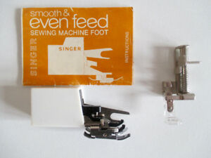 Quilters/Sewers Walking Foot & Embroidery Foot