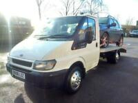 IMMACULATE TRANSIT T350 2.5 DIESEL, NEWLY FITTED BEAVERTAIL TRANSPORTER !
