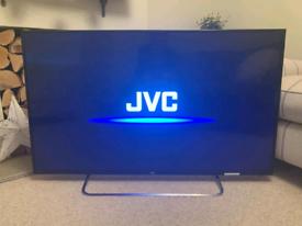 "JVC 50"" Full HD LED backlit TV"