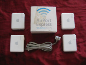 (5) Apple Airport Express Base Stations A1264 + A1084