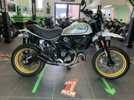2017 Ducati Scrambler Desert Sled motorcycle White