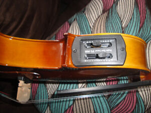 ASTONVILLA ACOUSTIC/ELECTRIC VIOLIN FULLY LOADED  BRAND NEW $175