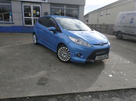 Ford Fiesta Zetec S 1.6 Diesel, 60 mpg, £20 tax, Rare Blue Interior.