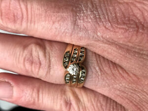 Wedding Band/Engagement Ring for sale
