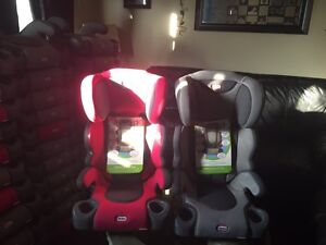 Brand new booster seats for sale gray or pink price is firm