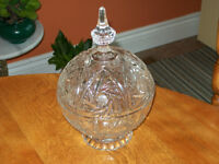 For Sale Crystal Candy Dish