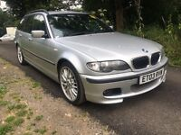 BMW 330i SPORT PETROL/LPG , LEATHERS, PERFECT FAMILY CAR