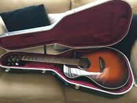 Yamaha APX500 electro acoustic guitar with official hard case