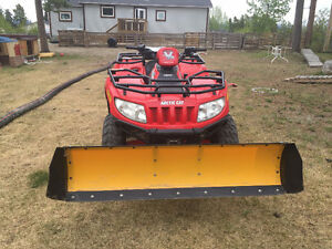 2006 Arctic Cat 650 4WD with Plow Rebuilt Engine