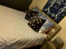 Queen bed head & Frame - Wooden