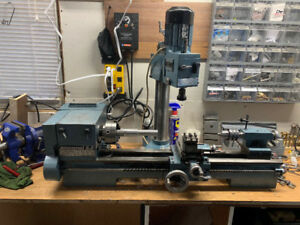Emco Emcomat 8.6 Lathe with Milling Tower ,, Super 8
