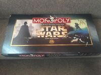 Star Wars Monopoly 1997 Classic Trilogy Edition