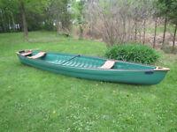 Canot Canoe Pelican Bayou 160 Polymer - tres stable