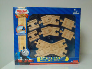 THOMAS Wooden Railway, Adaptor Track Pack, NEW